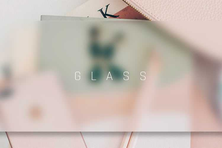 Example from 8 Stunning Examples of CSS Glassmorphism Effects