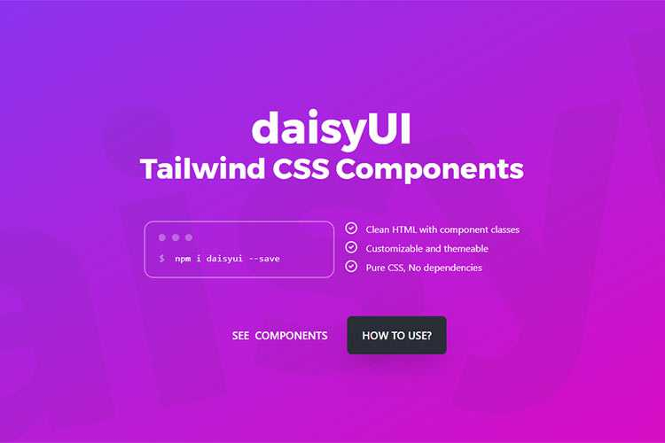 Example from daisyUI