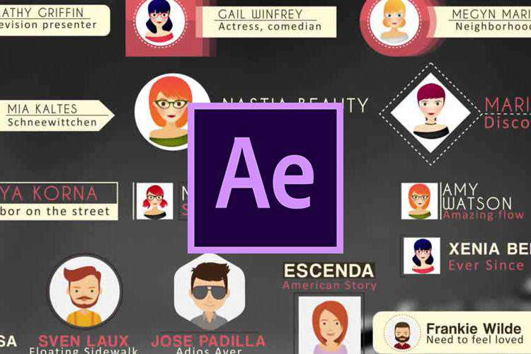 Example from 10 Free Lower Thirds Templates for Adobe After Effects