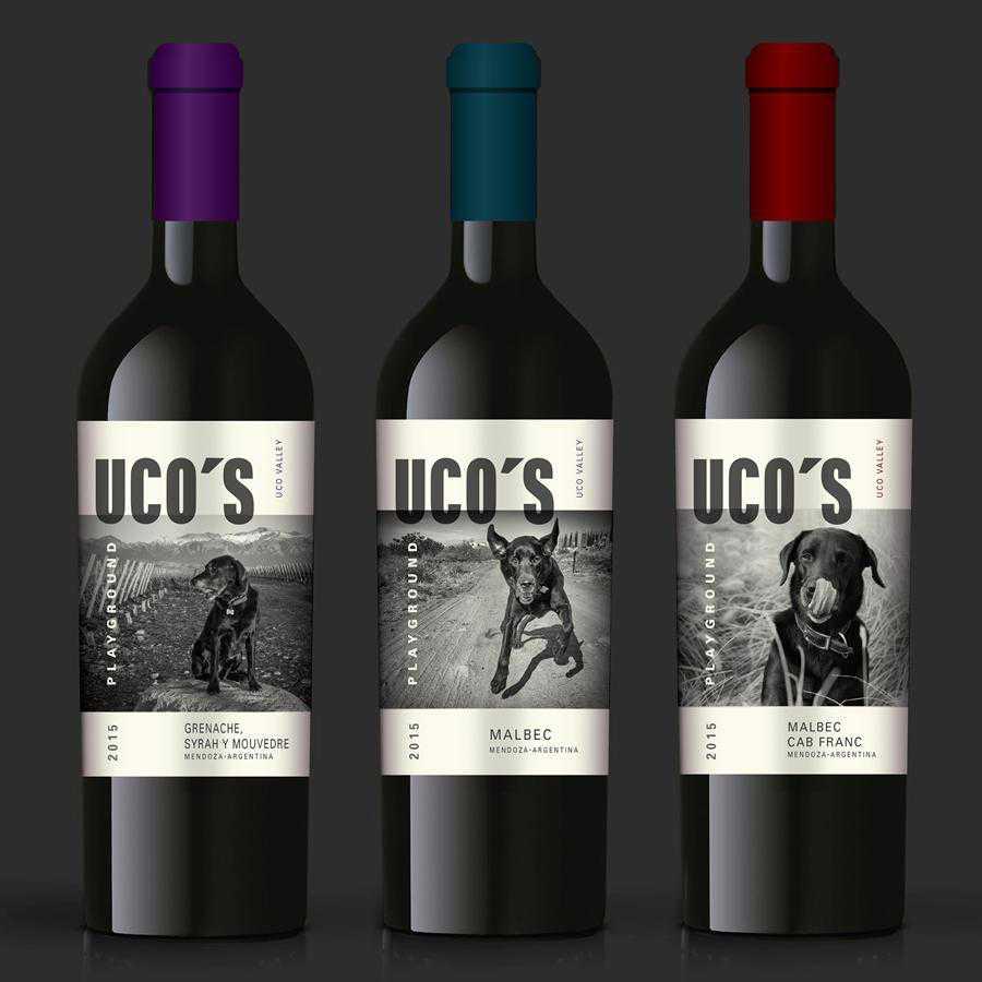 Uco Playground wine label design inspiration