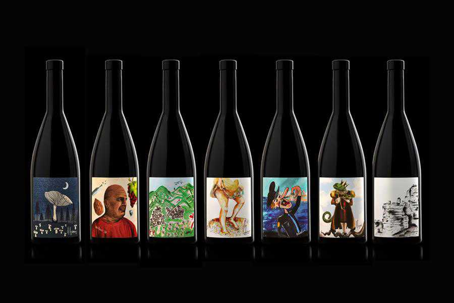 Microvinifications Label Design inspiration