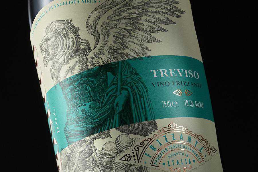 Eleven Wine Brand wine label design inspiration