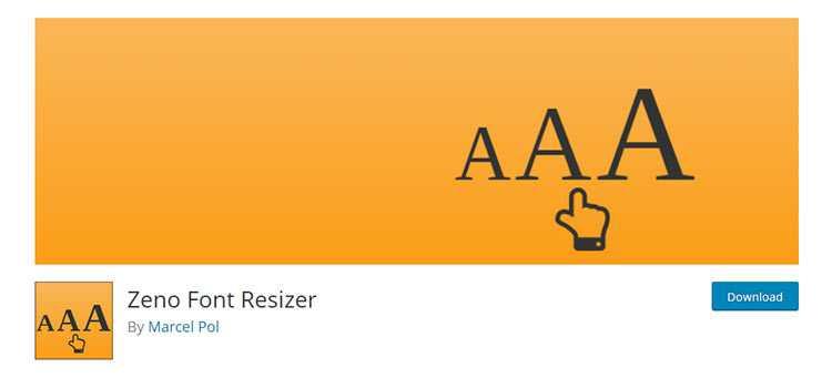 Zeno font size