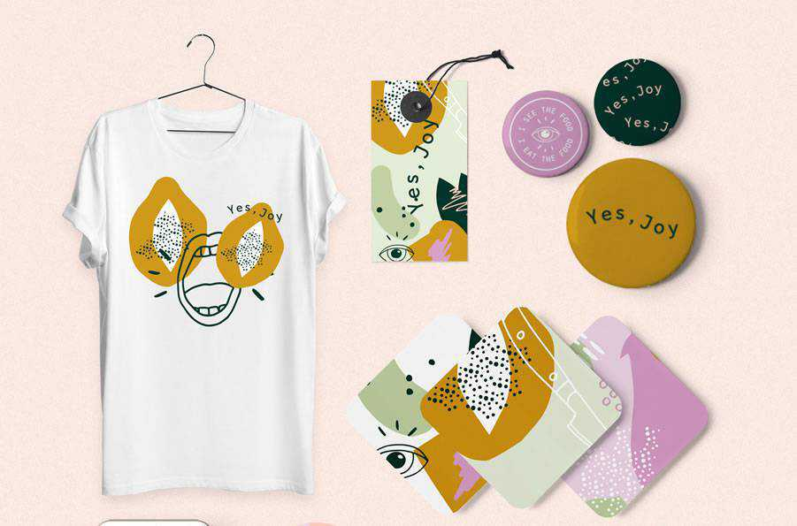 Yes Joy Brand brand identity design inspiration logo