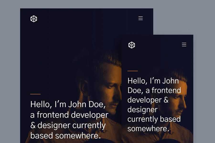 Ethos free resume html templates cv
