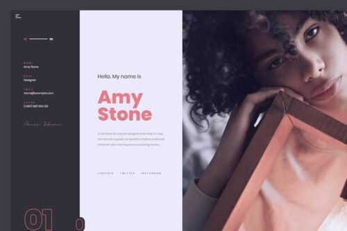 15 Free HTML Templates for Creating Resumes
