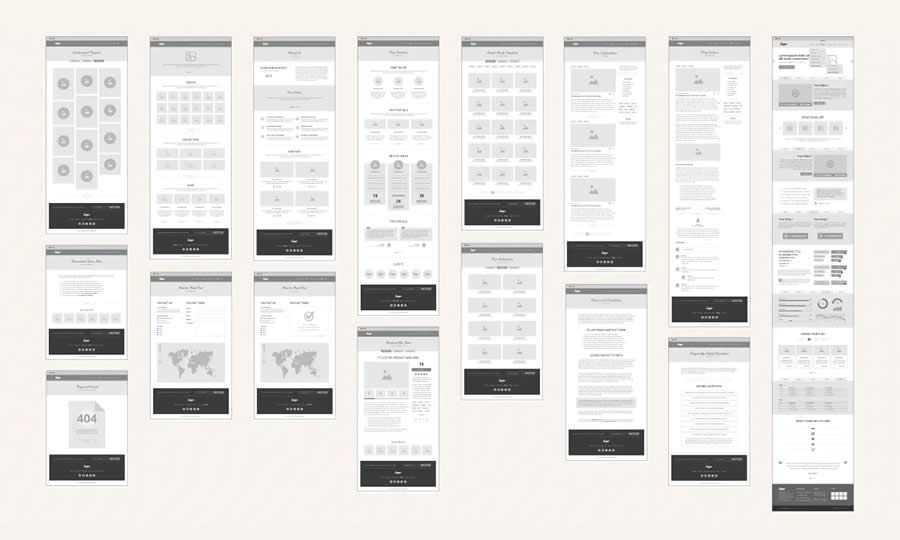 UX Workflow Wireframe & Sitemap Creator design inspiration