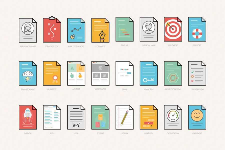 UX Workflow Document Templates design inspiration