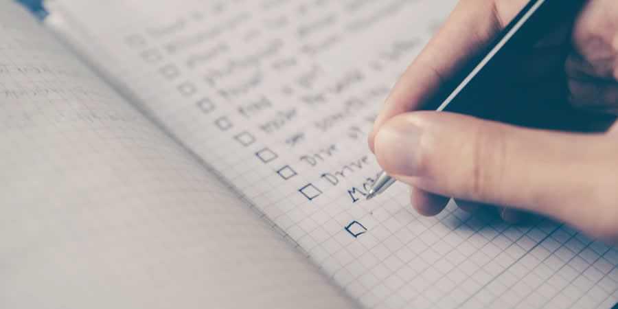 todo to do list notepad write designer