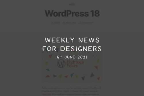 Weekly News for Designers № 595