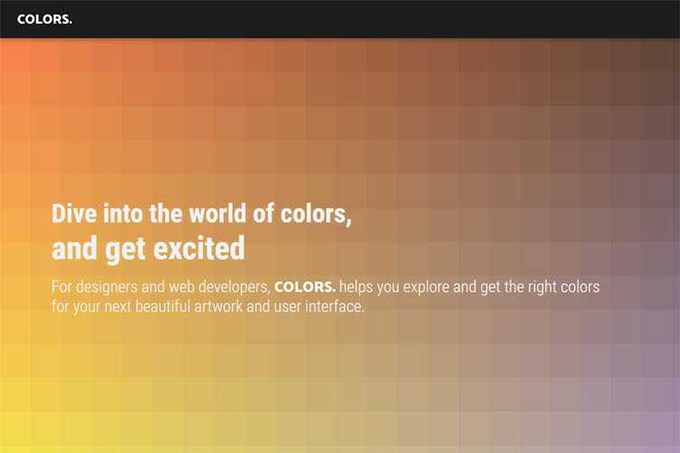 Example from COLORS.