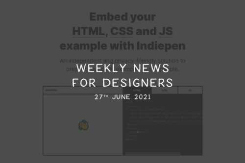 Weekly News for Designers № 598