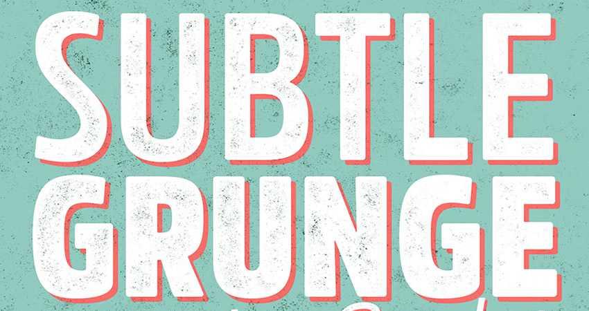 Subtle Grunge Texture Brushes free photoshop brush pack set adobe