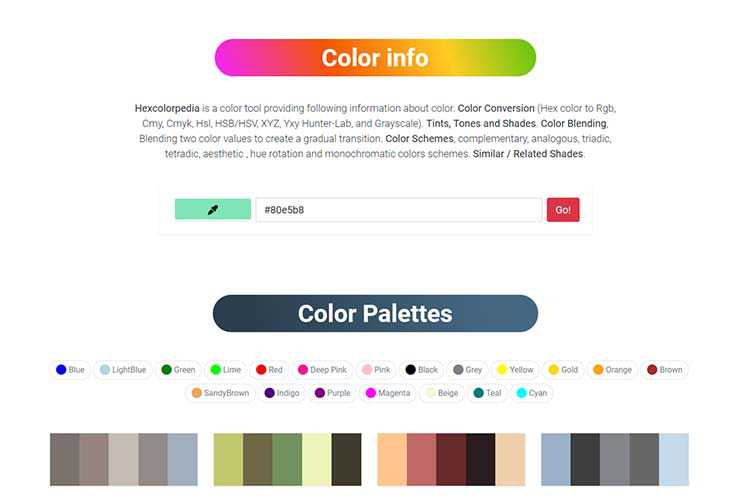 Example from: HexColorPedia