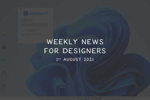 Weekly News for Designers № 603