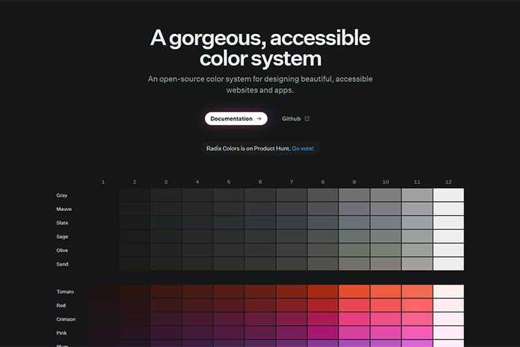 Example from Radix UI