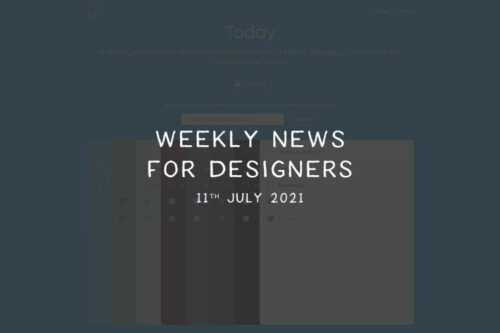 Weekly News for Designers № 600