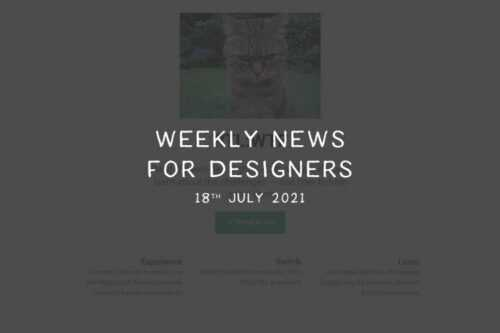 Weekly News for Designers № 601