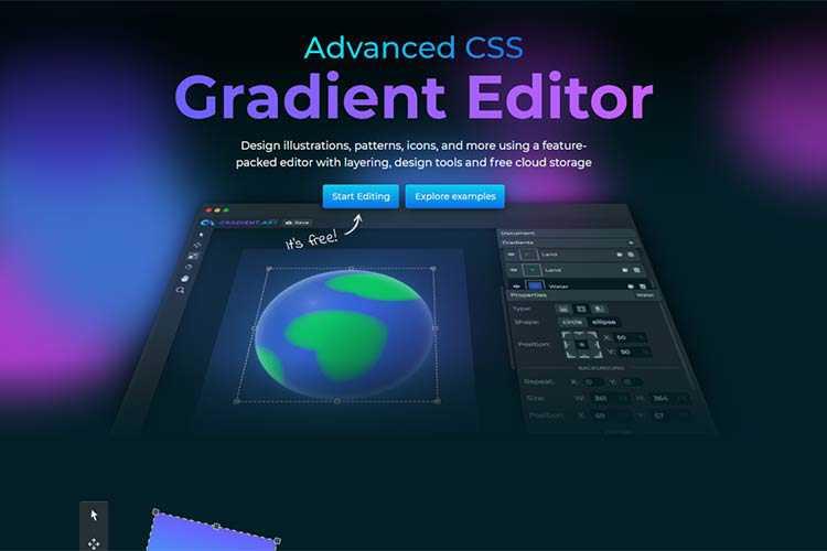 Example: GradientArt