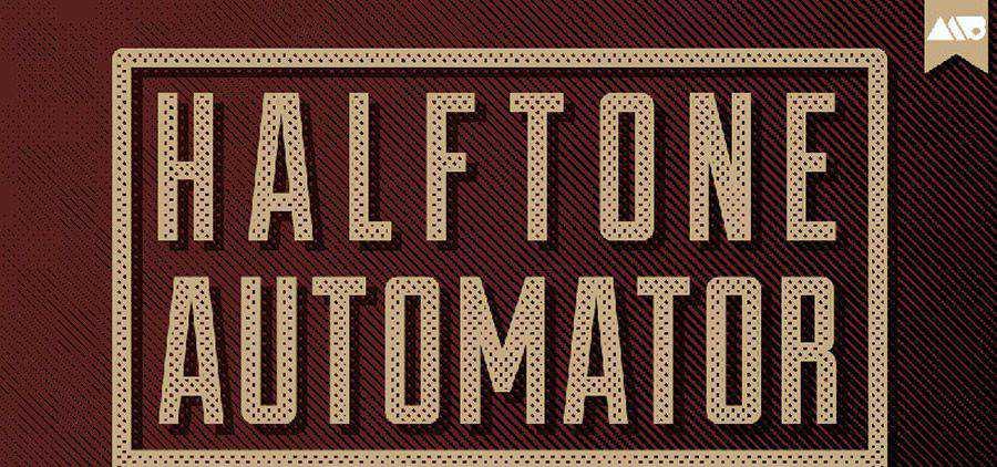 Semitono Automator Vintage Acción de Photoshop gratis atn