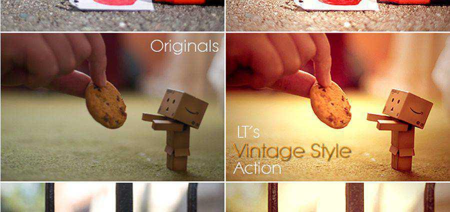 LT Vintage Style Free Photoshop Acción atn