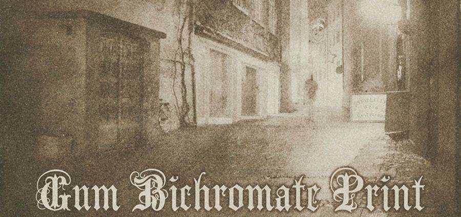 Goma de mascar Bichromate Print vintage free photoshop action atn