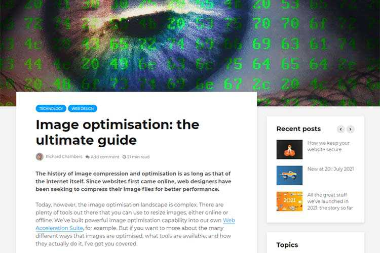 Example from Image optimisation: the ultimate guide