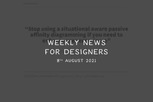 Weekly News for Designers № 604