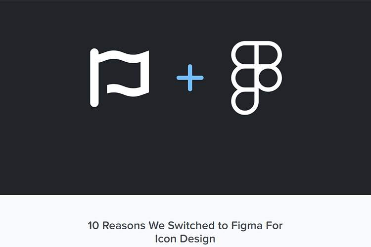 Example from 10 Reasons We Switched to Figma For Icon Design