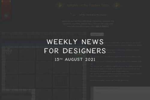 Weekly News for Designers № 605