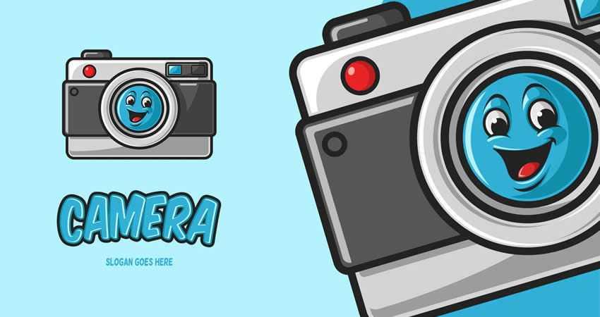 Camera Mascot Logo Templates photographer camera photography