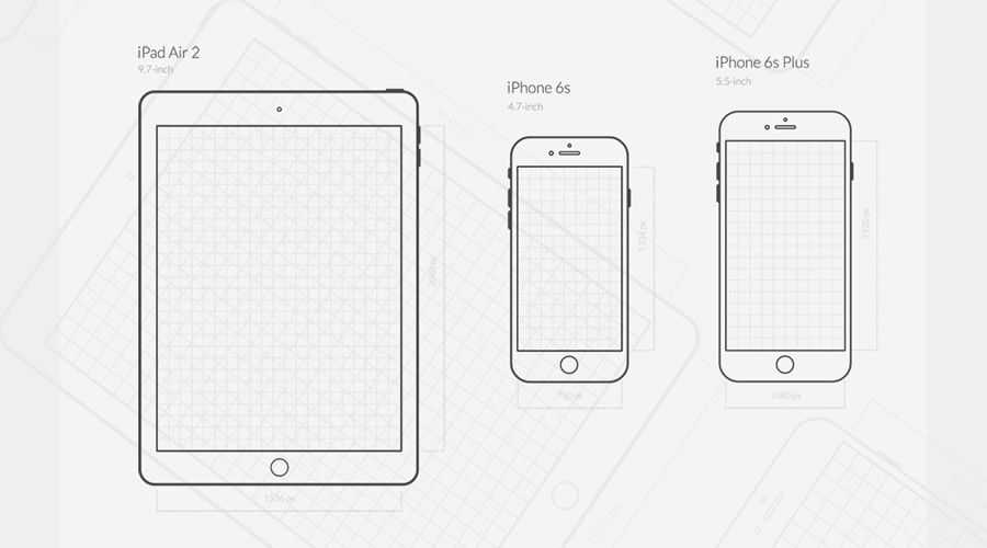 iOS UX Wireframe Icon Set free wireframe template PNG SVG EPS Format
