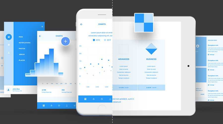 Wires UX Kits free wireframe template Adobe XD Format