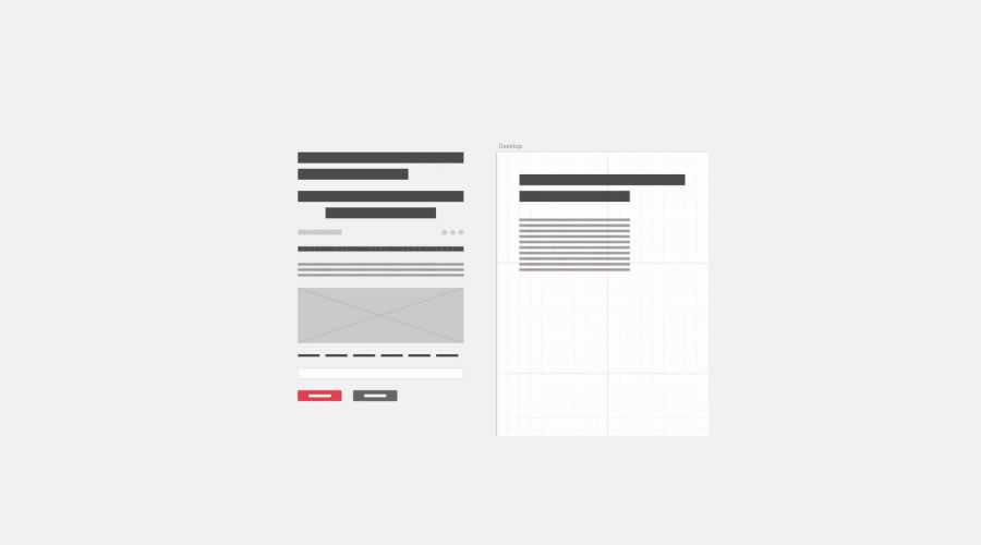 Fluid Kit free wireframe template Sketch Format