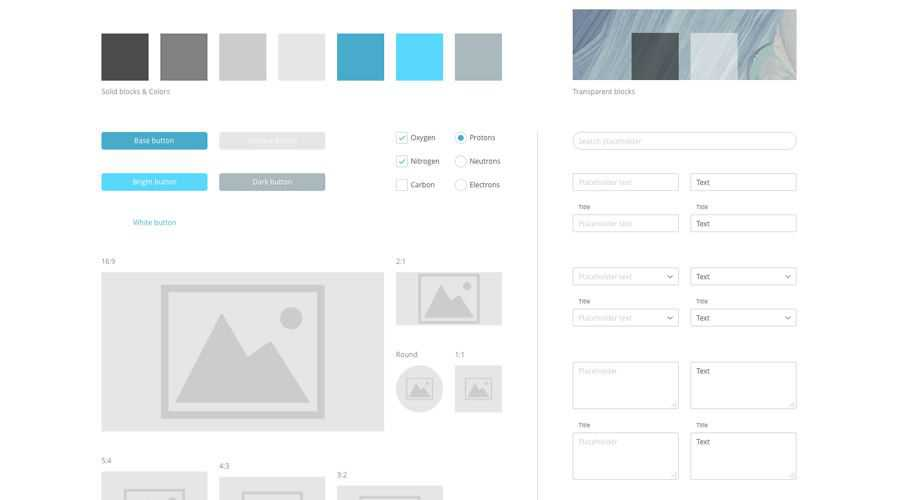 Essential Prototyping free wireframe template Sketch Format