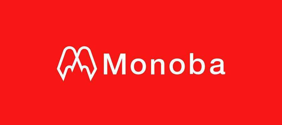 Monoba Brand Identity simple logo design inspiration