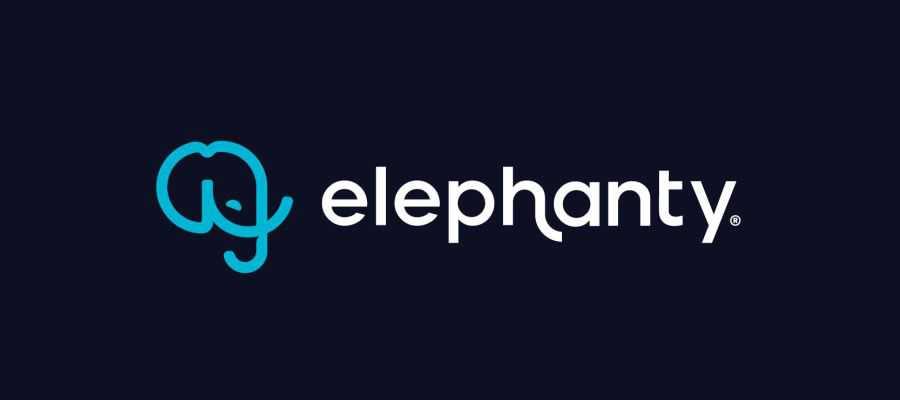 elephanty simple logo design inspiration