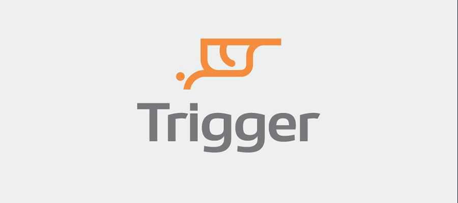 Trigger simple logo design inspiration