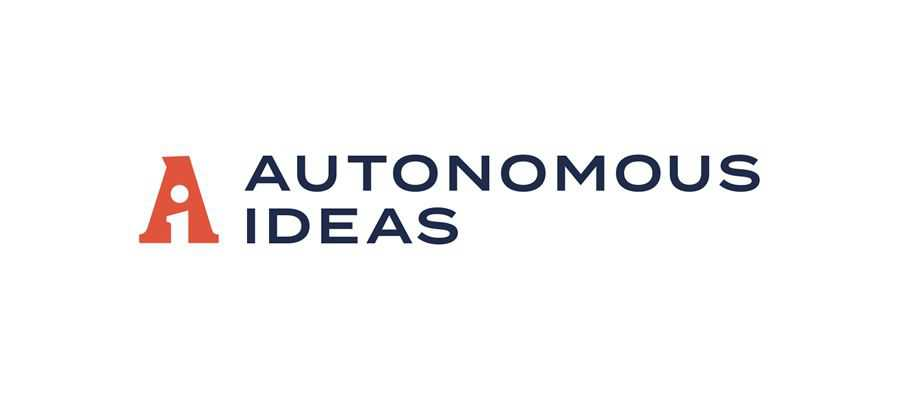 Autonomous Ideas simple logo design inspiration