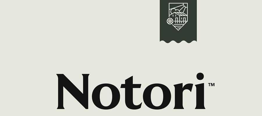 Notori simple logo design inspiration