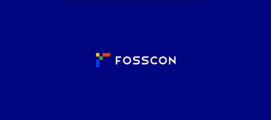 FOSSCON simple logo design inspiration