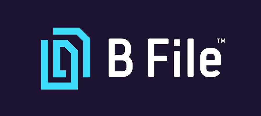 B-File simple logo design inspiration