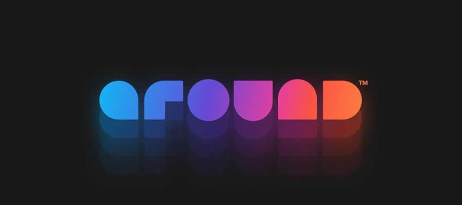Around New simple logo design inspiration
