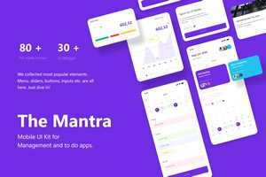 The Mantra Mobile UI Kit