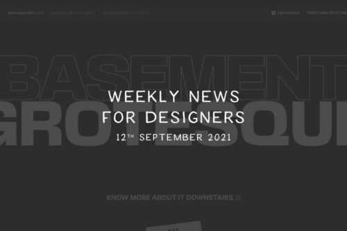 Weekly News for Designers № 609