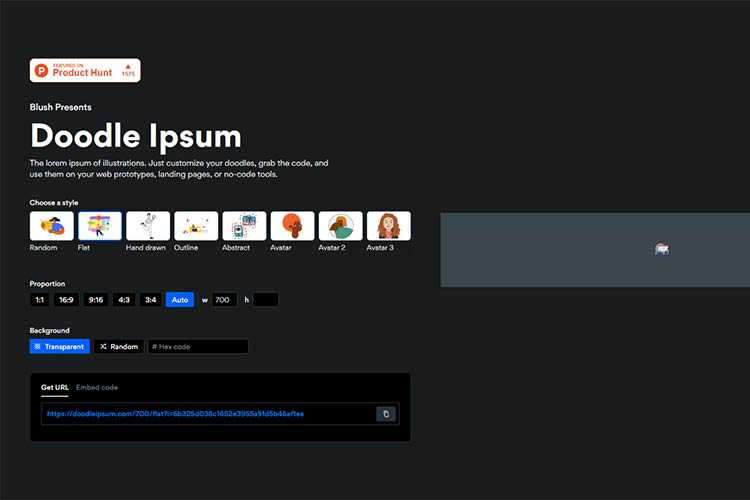 Example from Doodle Ipsum