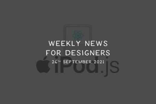 Weekly News for Designers № 611