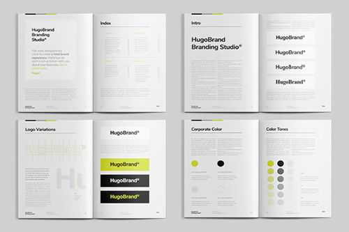 Adobe InDesign Brand Manual Template