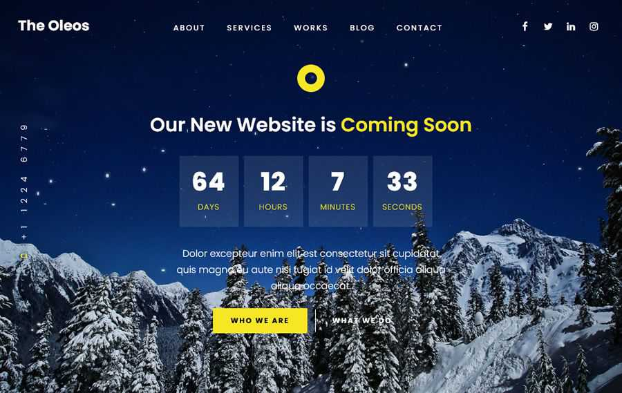 The Oleos that come on the quick page are inspired by the web design