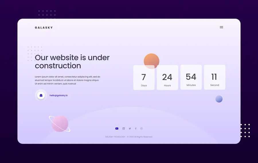 Under Fix Figma Photoshop Website Template comes quick web design inspiration page